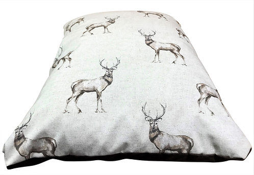 Country Stag Cushion 90cm x 60cm