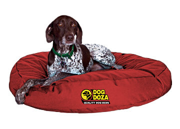 Waterproof Round Bed - 3 Sizes - RED