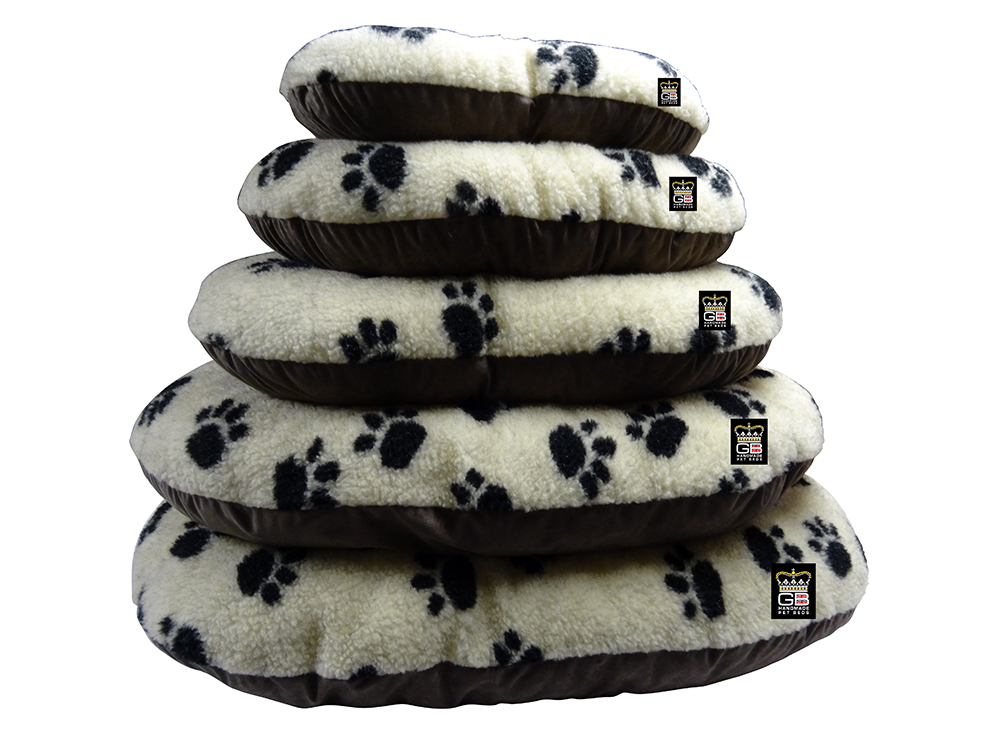 GB Pet Beds - Cotswold beige fleece