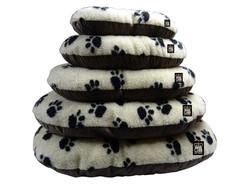 GB Pet Beds - Cotswold beige fleece