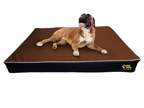 Waterproof Mattress Bed - 3 Sizes - BROWN & BLACK