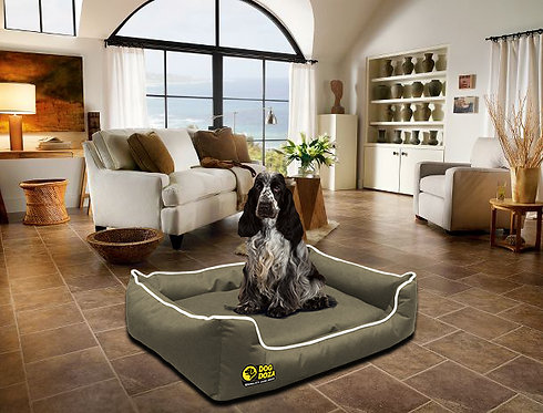 Dog Dreamer Settee - Memory Foam Waterproof Various Sizes - Colours