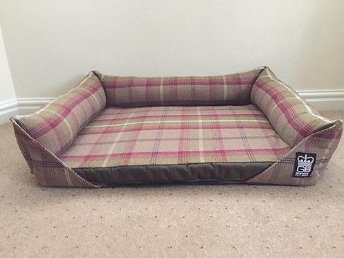 Memory Foam Sofa Dog Bed + Reversible Slab Various Sizes