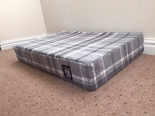 Memory Foam Dog Mattress Dove Check Various Sizes