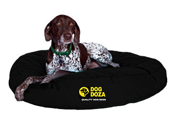 Waterproof Round Bed - 3 Sizes - Black
