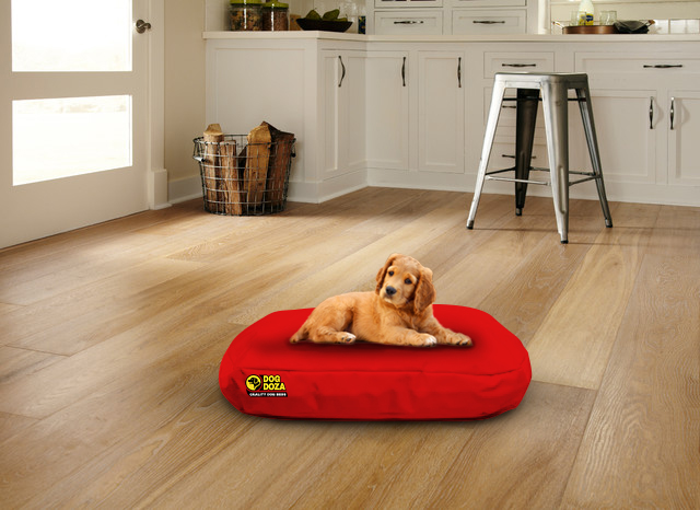 Waterproof Oval Bed Red