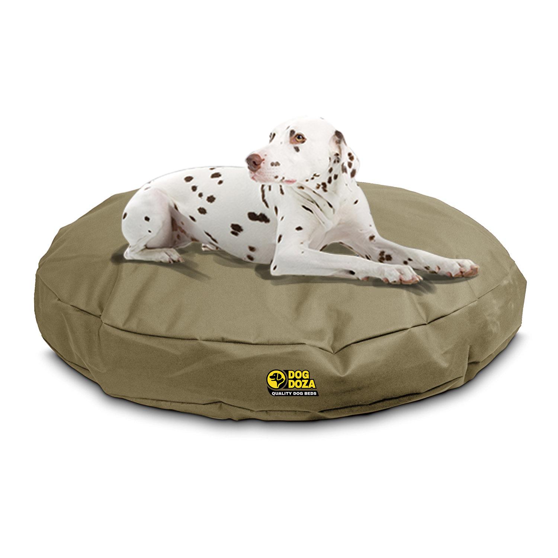 Beige Dog Bed