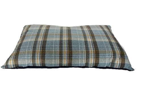 Wholesale Check Fabric Cushion - Various Sizes