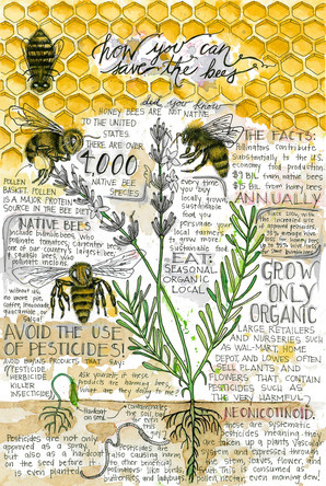 BEE SAFE Initiative Poster