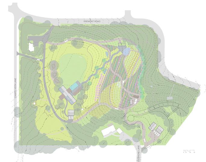 Campo Vista: Concept grading plan
