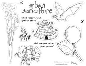 Urban Ag: Kids Cutout Sheet