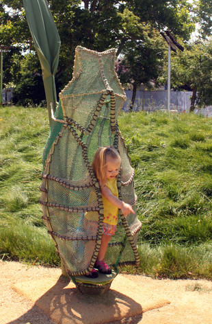 Children's Museum of Sonoma County - Mary's Garden
