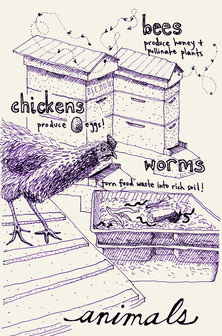 Urban Agriculture Coloring Book