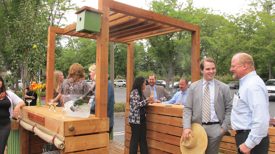 Bartlett Parklet: Community Build