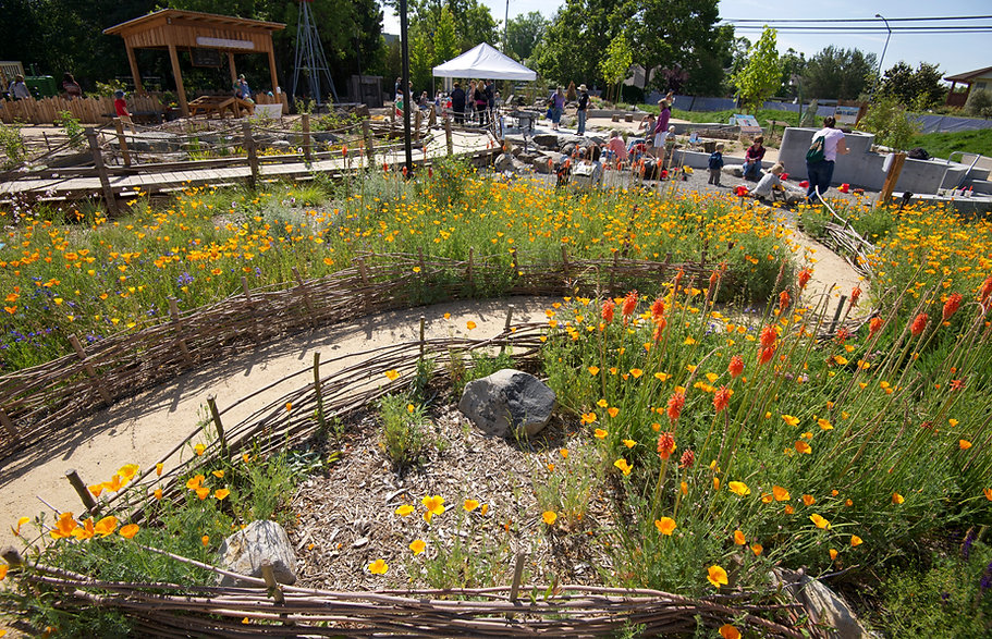 Chilren's Museum of Sonoma County - Mary's Garden, an award-winning nature-play paradise in Santa Rosa