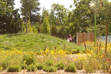 Children's Museum of Sonoma County: Mary's Garden