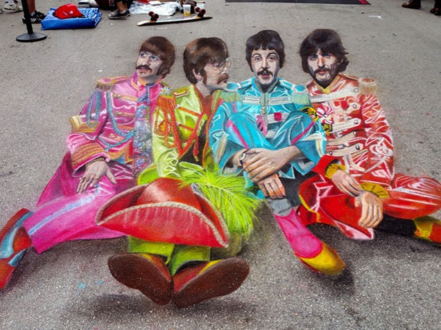The Beatles' Sgt Pepper
