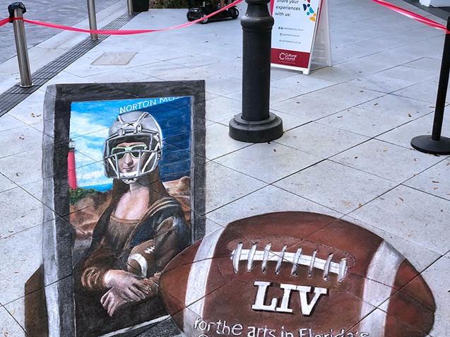 Mona Lisa Superbowl