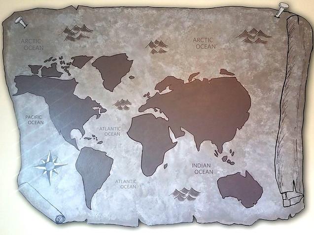 Parchment Map