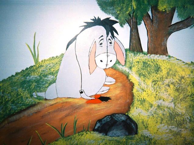 Winnie The Pooh Nursery (Eyore)