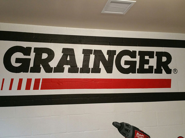 Grainger Room Logo Close-Up