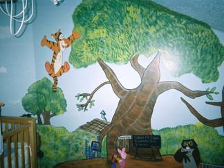 Winnie The Pooh Nursery (Tigger)