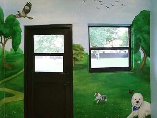 Dog Room Close Up Wall 2
