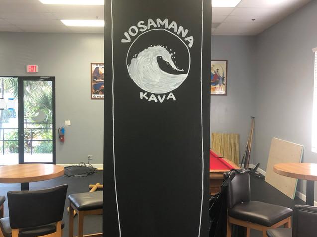 Chalk Pillar Logo/Surfbboard
