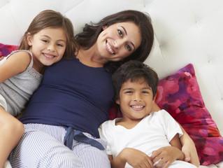 Mamás que educan hijos felices