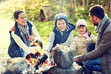 happy-family-roasting-marshmallow-over-c