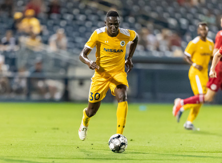 Bolu Akinyode Rescues Three Points For Nashville.
