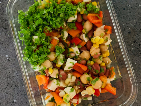 5-Minute Recipes: Southwestern Spirodela Salad