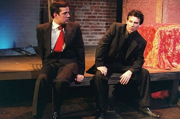 Timothy McCown Reynolds as Leveret & Chris Thorn as Griffin Hunter in THE DEATH OF GRIFFIN HUNTER by Kirk Wood Bromley Directed by Howard Thoreson