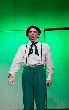 Timothy McCown Reynolds as Old Man Frogger in MONOLOGUE FOR SINGLE PLAYER (A SLEIGHT OF GREEN) by Jeff Lewonczyk Directed by Gyda Arber