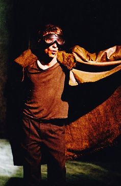 Timothy McCown Reynolds as Egon Covert / Syndrome in SYNDROME by Kirk Wood Bromley Directed by Brendan Turk