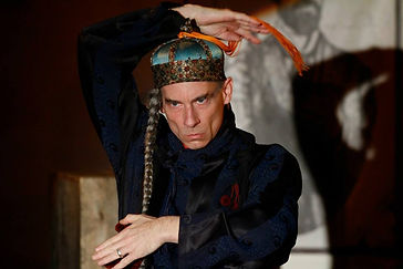 Timothy McCown Reynolds as Chief Tuk Tuk in THE MEDICINE SHOWDOWN by Adam Koplan & Topher Payne Directed by Jessi D. Hill