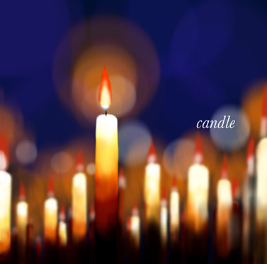 3rd single「candle」