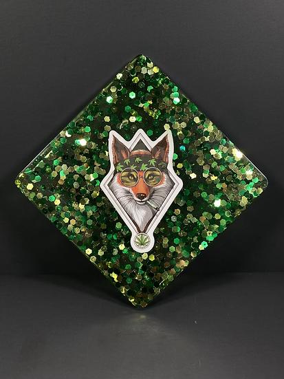 Foxy Weed Coaster