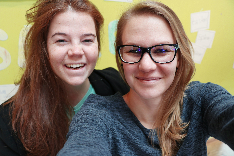 Rebecca und Anna-Maria