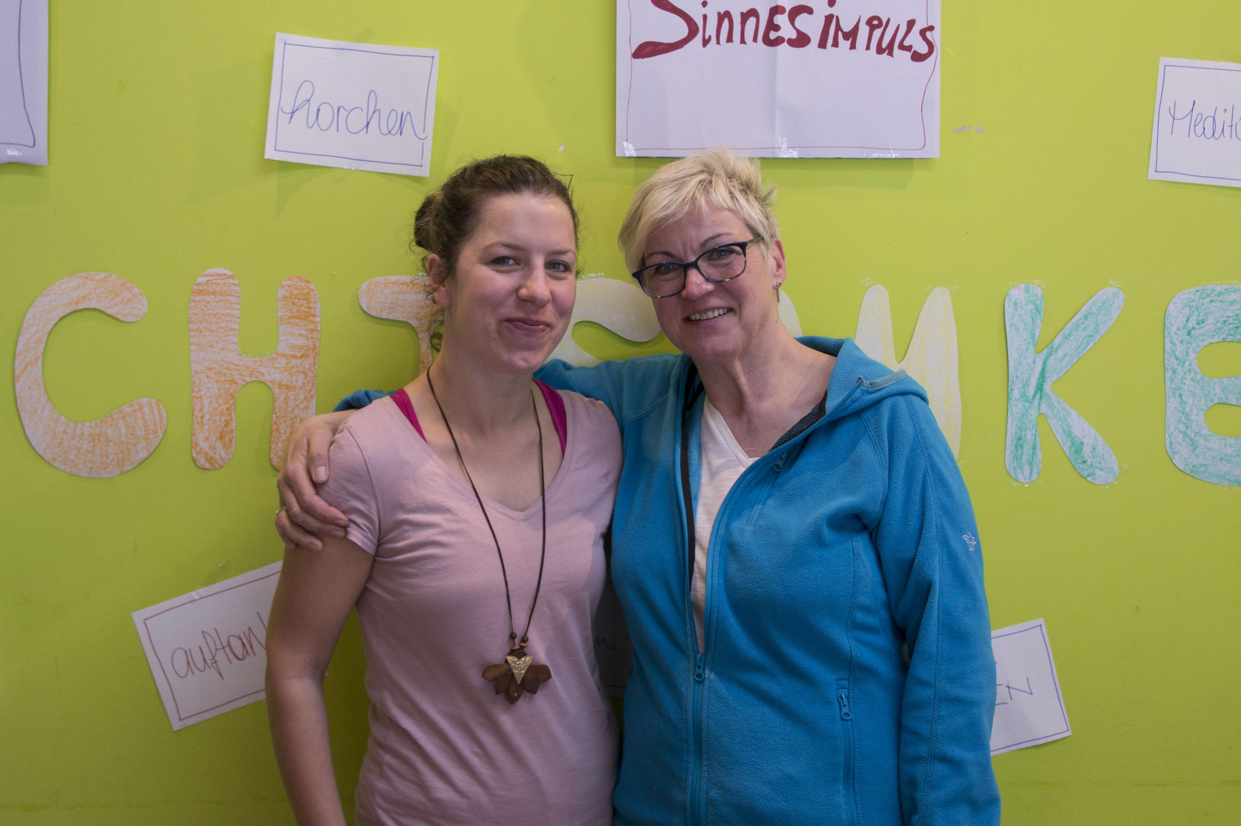 Anja und Brigitte