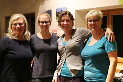 Claudia, Anna-Maria, Anja, Brigitte