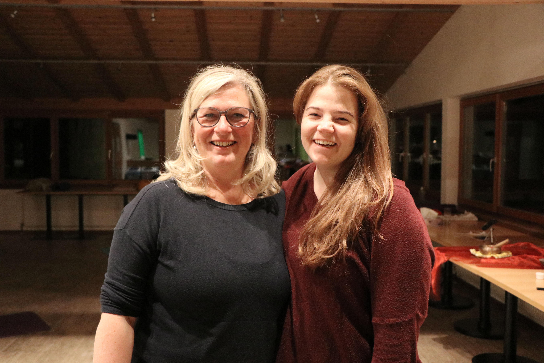 Claudia und Rebecca