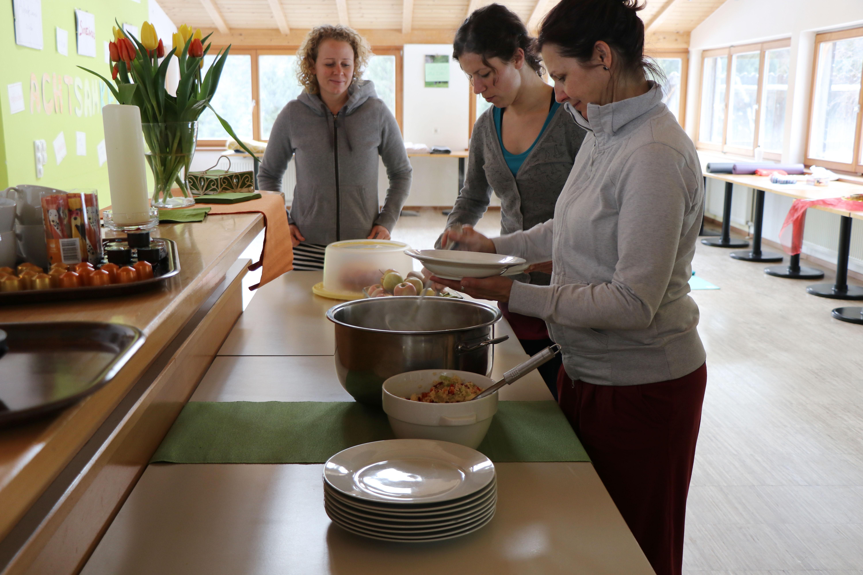 Schnappschuss: Mittagessen