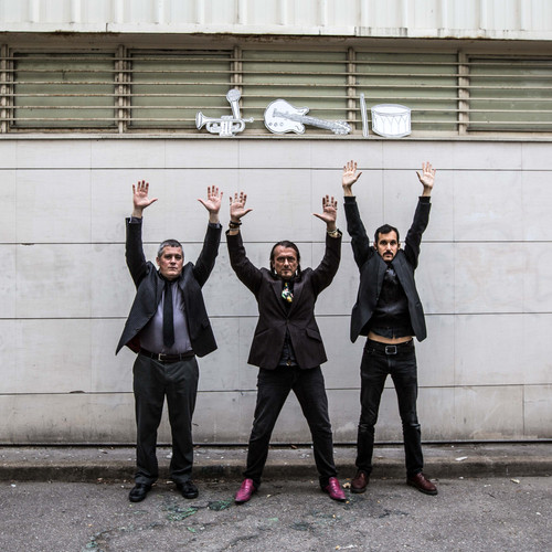 band Zarboth, 2015 - press photography for album There's no devils at all, it's just the system, Paris, France