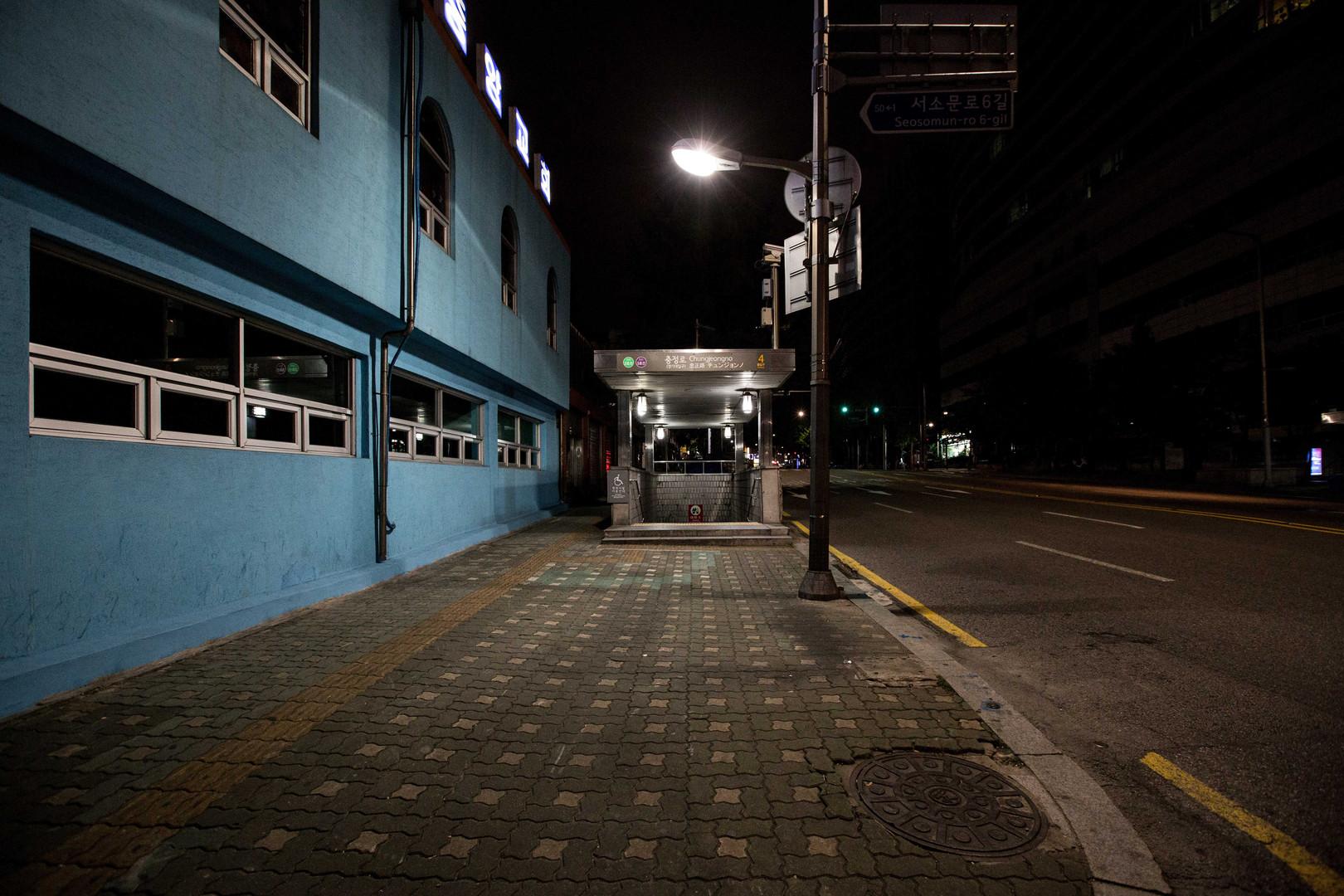 seoul street night #10