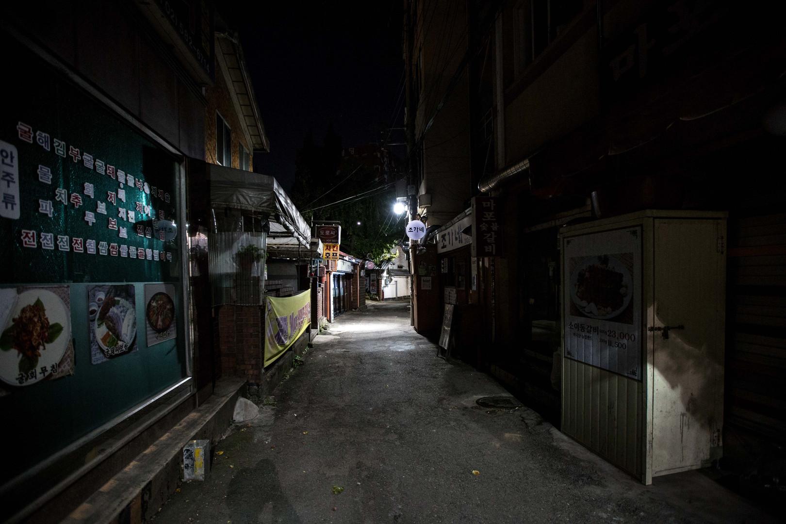 seoul street night #3