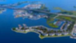 Kent Narrows from the air