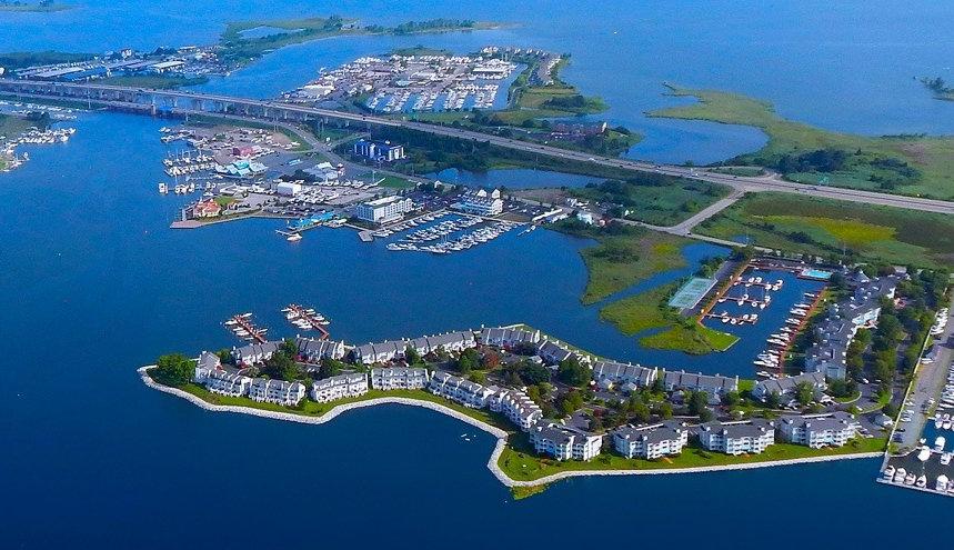 Kent Narrows Waterfront | Maryland | Chesapeake Bay Bridge
