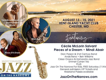 Jazz Festival coming to the Kent Narrows Waterfront in August!