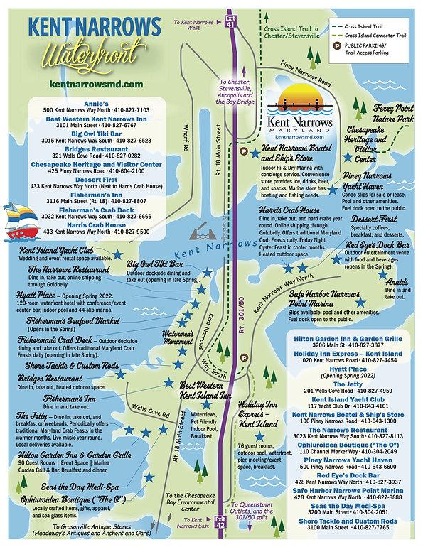 Spring 2021 Map KentNarrows_Guide_2-25-2